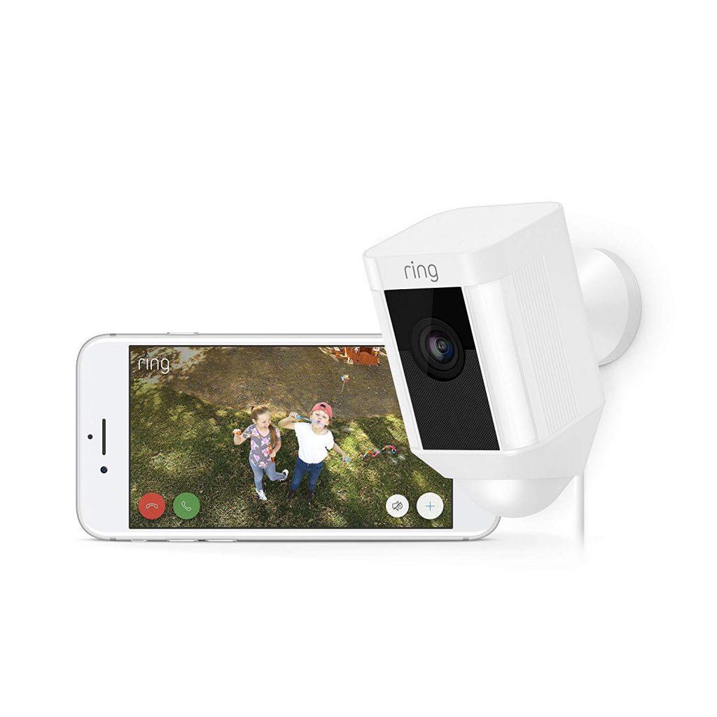 Ring Spotlight Cam Security Camera with LED Spotlight Review