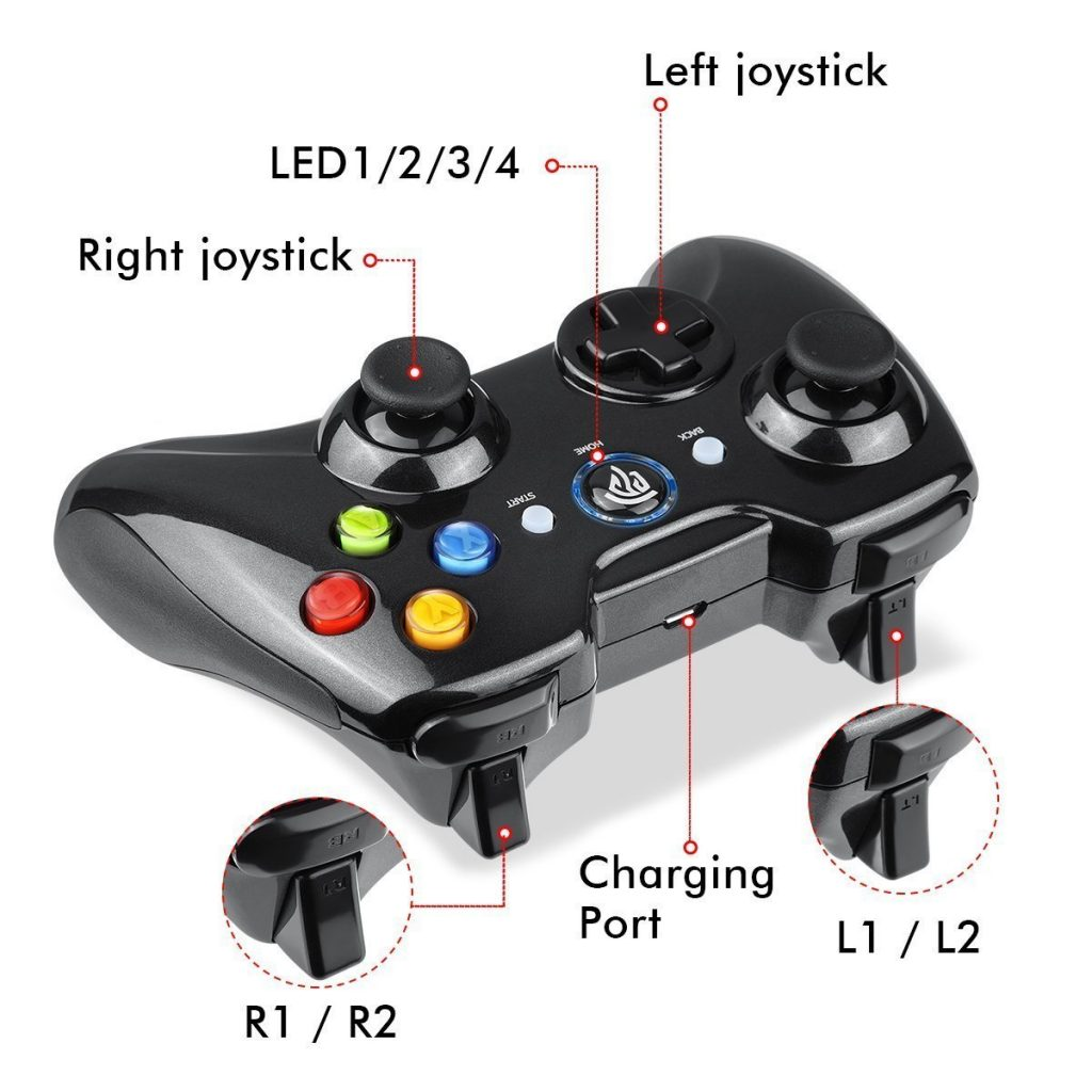 EasySMX Wireless Game Controller Review