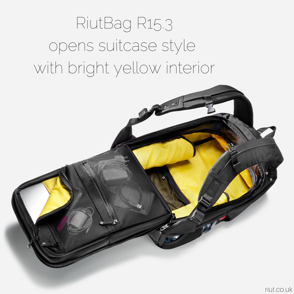 RiutBag R15.3 Secure backpack Review