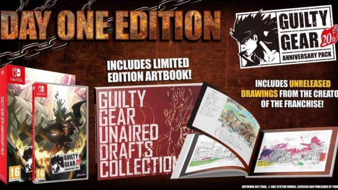 Guilty Gear 20th Anniversary Pack now available for Nintendo Switch™!