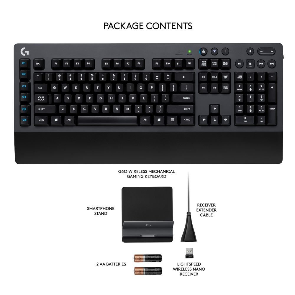 Logitech G613 Wireless Mechanical Gaming Keyboard Review