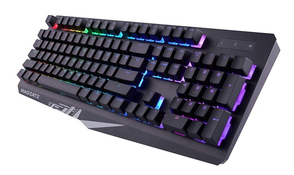 Mad Catz S.T.R.I.K.E. 2 Membrane RGB Gaming Keyboard