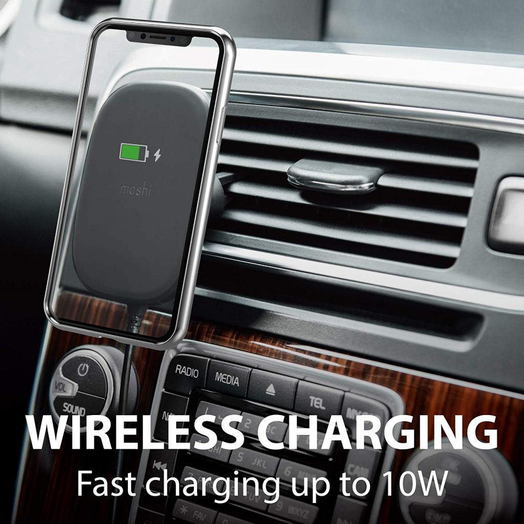 Moshi SnapTo Magnetic Car Mount with Wireless Charging Review